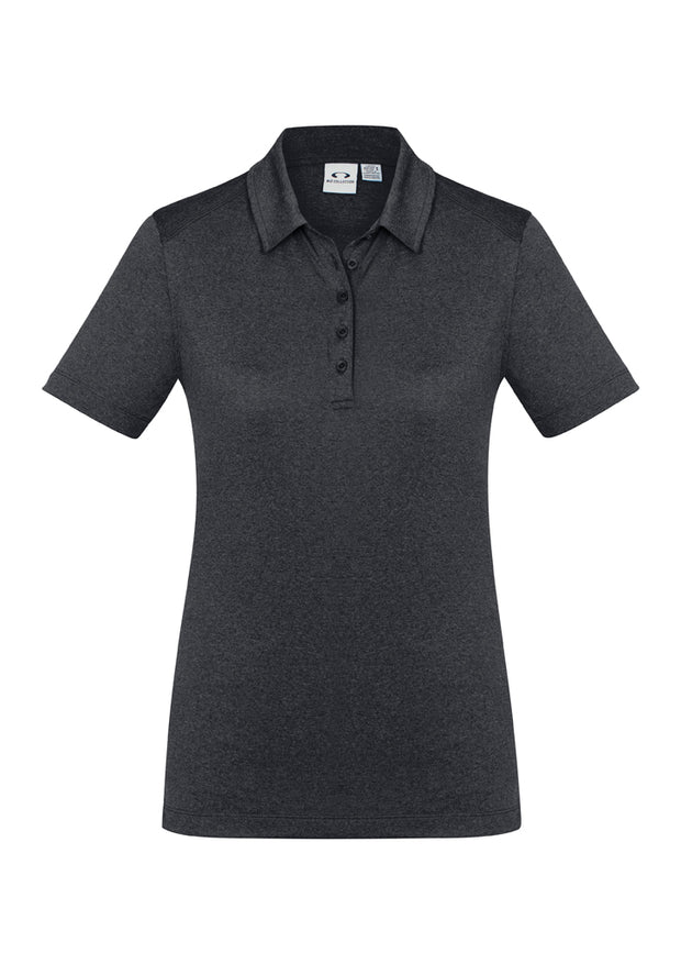 P815LS Biz Collection Womens Aero Polo Shirt - Infectious Clothing Company