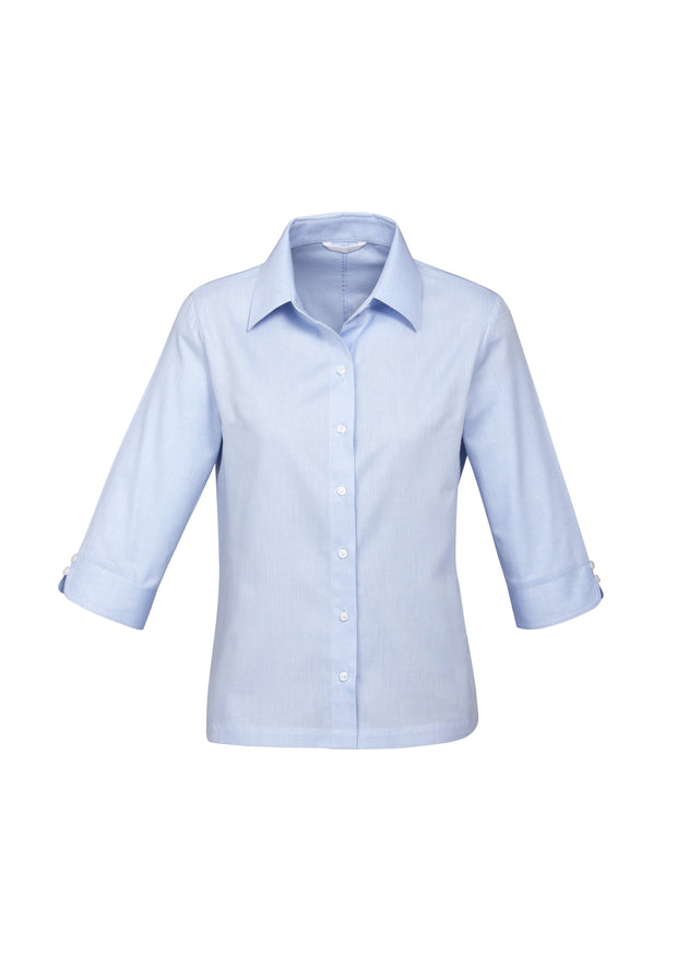 S10221 Biz Collection Womens Luxe 3/4 Sleeve Shirt