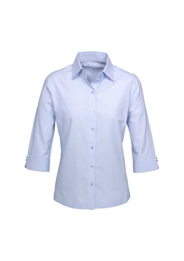 S29521 Biz Collection Ladies Ambassador 3/4 Sleeve Shirt - Infectious Clothing Company