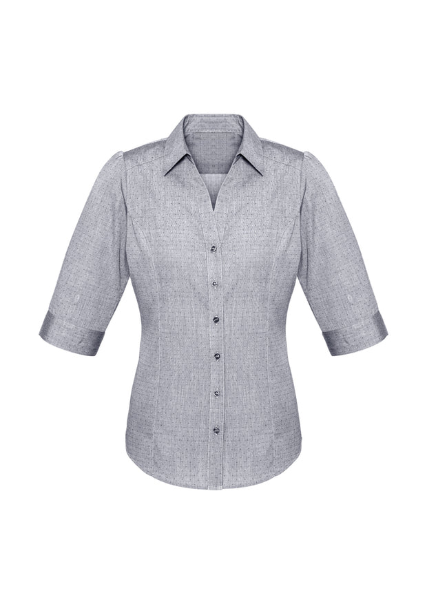 S622LT Biz Collection Ladies Trend 3/4 Sleeve Shirt