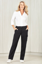 CL954LL Biz Care Womens Comfort Waist Cargo Pant - Infectious Clothing Company