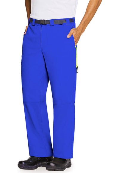 CH205A Royal Large Men's Antimicrobial Code Happy Pant - Infectious Clothing Company