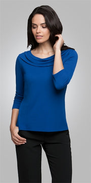 2226 City Collection Eva Knit 3/4 Sleeve Top