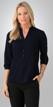 2263 City Collection Womens So Ezy 3/4 Sleeve Shirt