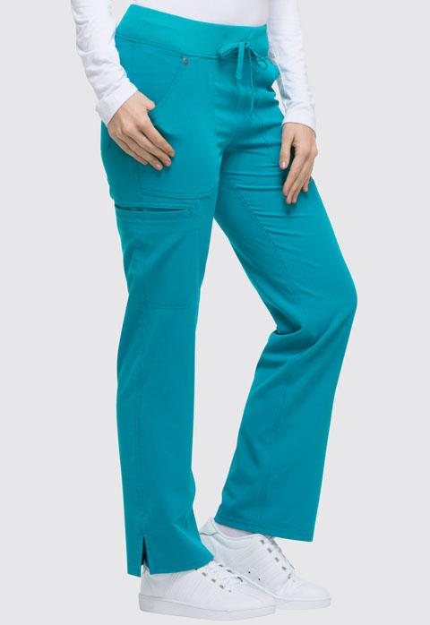 DK020P Dickies Xtreme Stretch Petite Drawstring Knit Waist Scrub Pant - Infectious Clothing Company