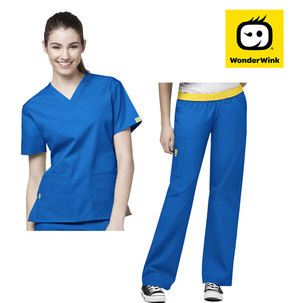 WonderWink Womens Origins Medical Scrub Set - Infectious Clothing Company