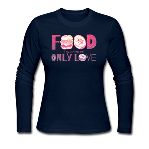 Food is my only love - navy