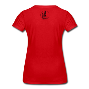 Astronaut Tee - red