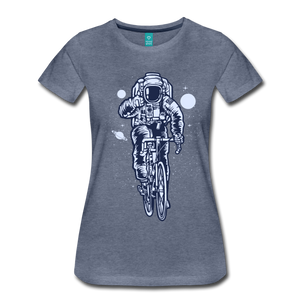 Astronaut Tee - heather blue