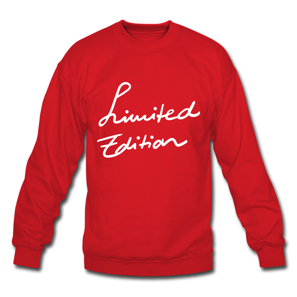 Limited Edition Sweatshirt - red