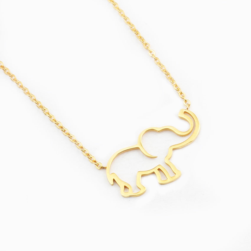 Elephant Pendant Necklace Jewelry - Lilah