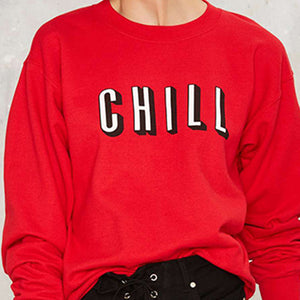 Chill Pullover Sweater Women's Sweatshirt - Lilah