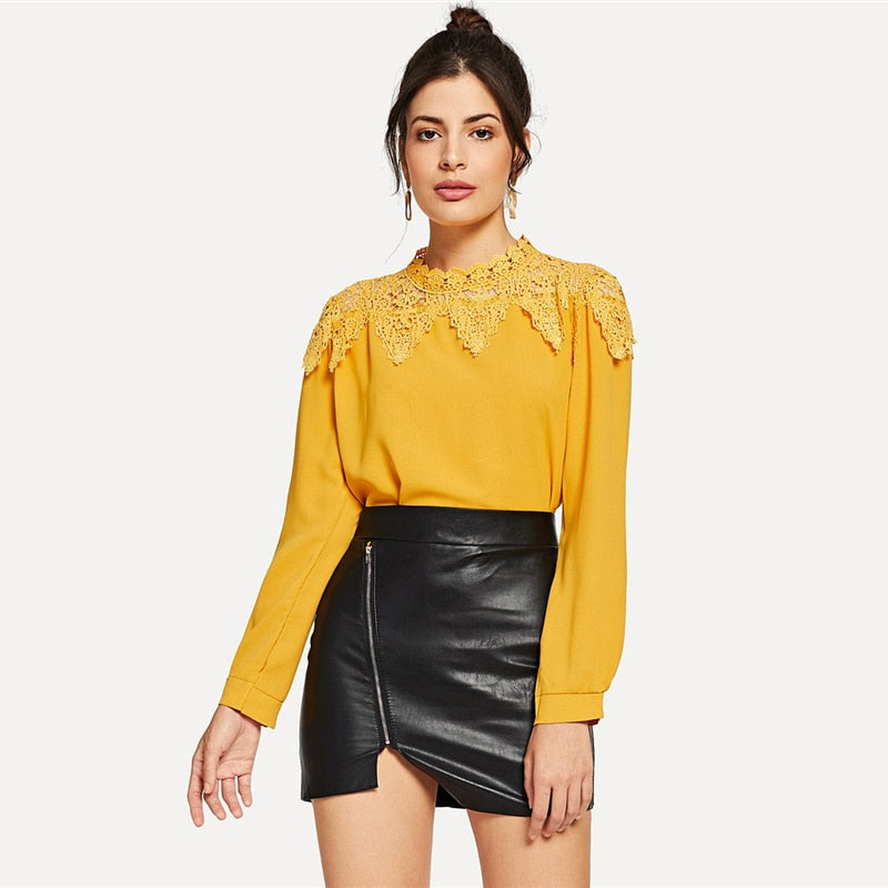 Golden Apple Blouse