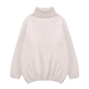 Thick Warm Turtleneck Over-sized Sweaters