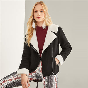 New York Style Faux Jacket