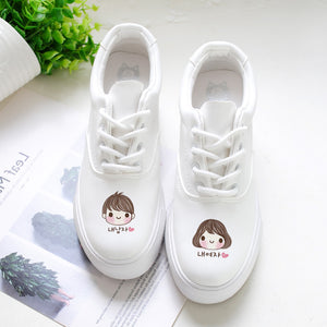 Hand Painted Casual Trainers