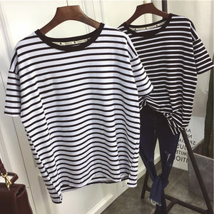 Striped Short Sleeve T-Shirts