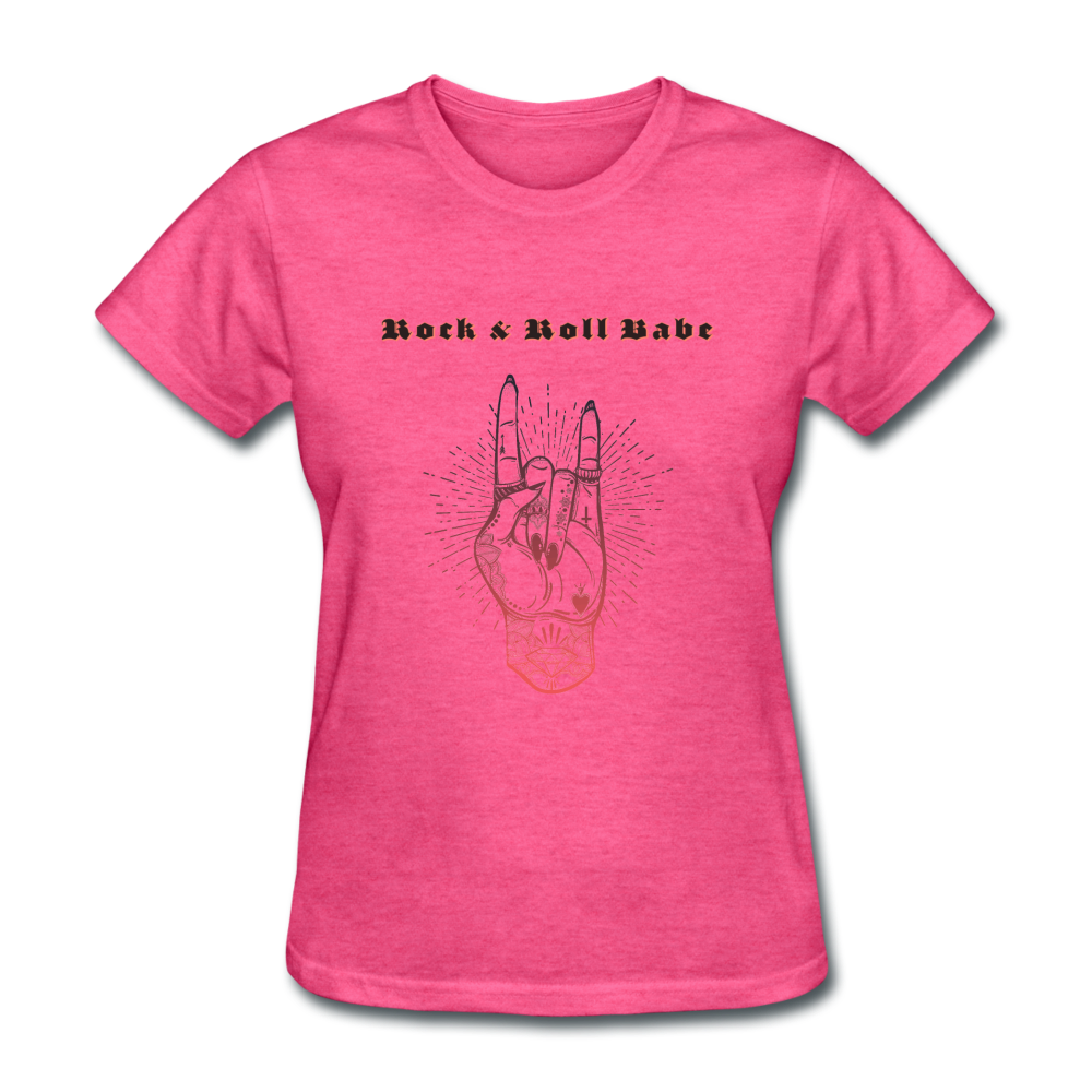 Rock & Roll Babe - heather pink