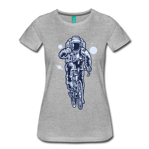 Astronaut Tee - heather gray