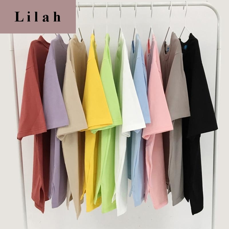 Candy Solid Color T Shirt