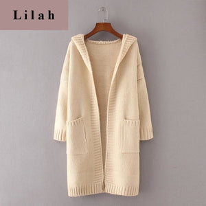 Long Knitted Coat