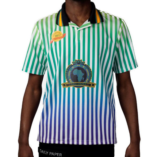 Daily Paper Football 6 Polo  Multicolor
