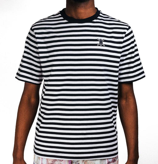 Daily paper Essential Striped T-Shirt  Black/White