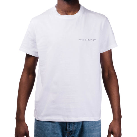 Maison Labiche Heavy Tee West Coast   White
