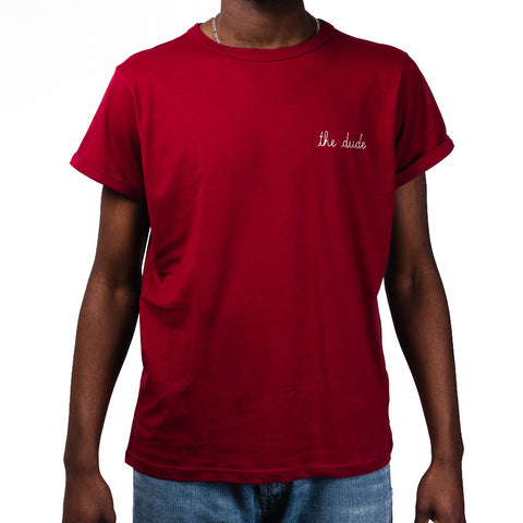 Maison Labiche Tee The Dude   Red