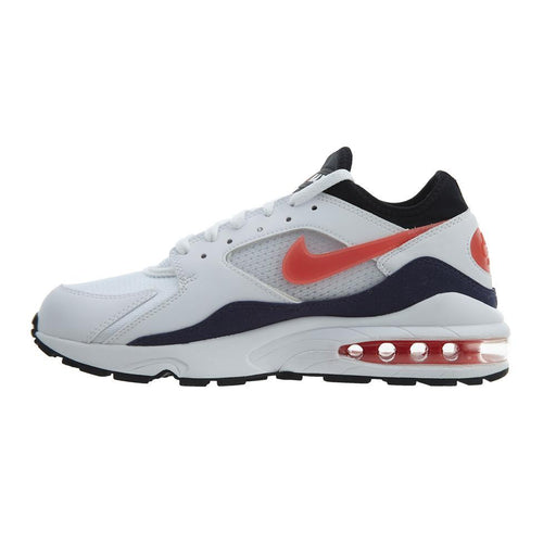 Air Max 93 White/Habanero Red