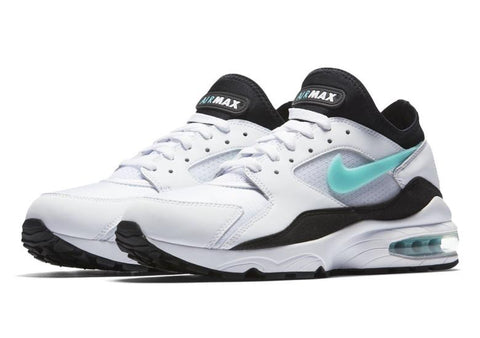 Air Max 93 White/Sport Turquoise-Black