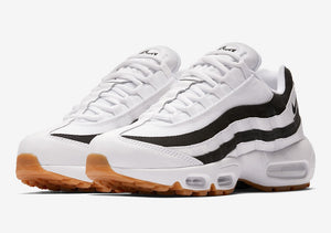 Wmns Air Max 95 White/Black/Gum