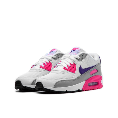 Wmns Air Max 90 White/Court/Purple