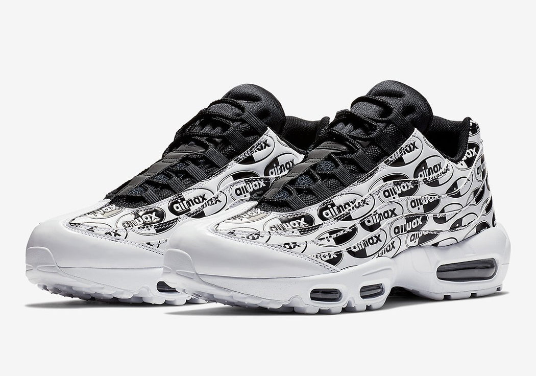 Nike Air Max 95 Premium Logo Pack White/Black