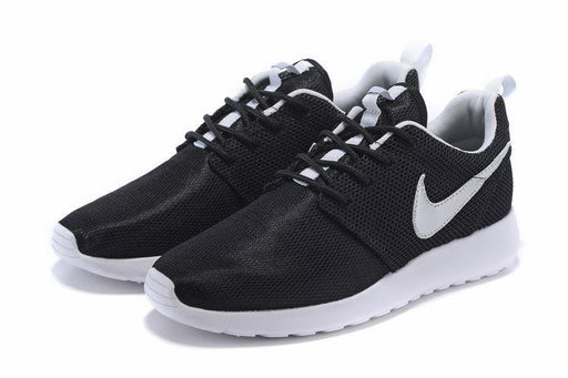 RosheRun GS Black/MetallicSilver