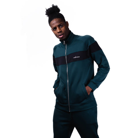 Maison Labiche Sporty Jacket Notorious   Pine Green/Black