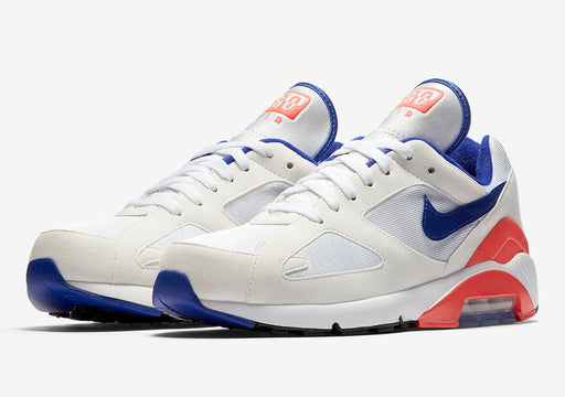 Air Max 180 White/Ultramarine-Solar-Red