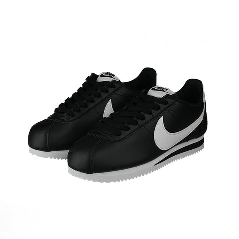 Wmns Classic Cortez Leather   Black/White