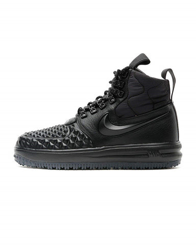 Nike Air Force 1 DuckBoot Womens Black/Black