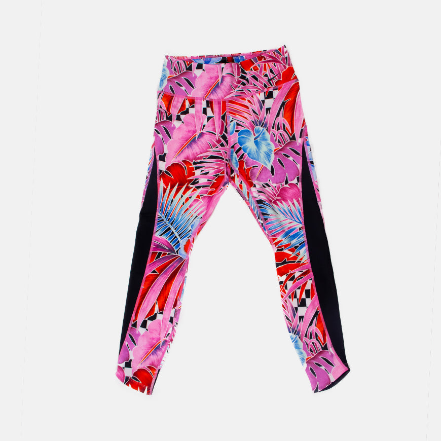 Wmns Nike One 7/8 Tights   Laser Fuchsia/Black
