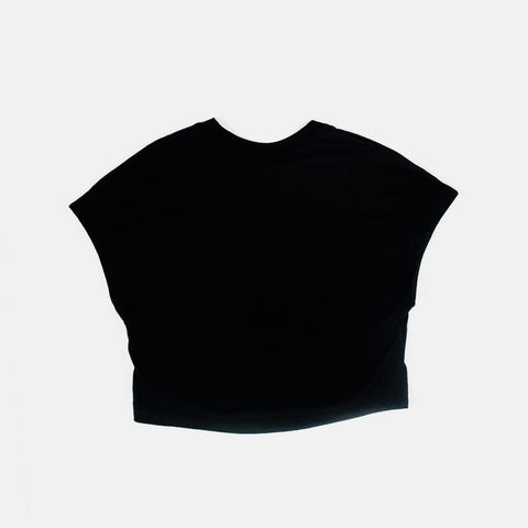 Wmns Nike Sportswear Swoosh Crop Top   Black/White