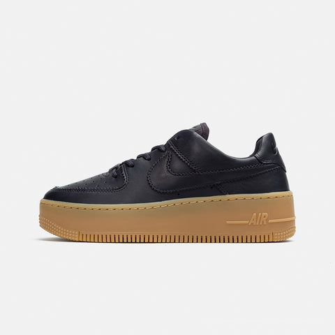 Womens Air Force 1 Sage Low LX   Oil Grey/Gum Light Brown-White