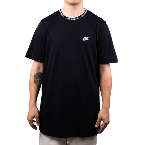 Nike Sportswear Just Do It Top   Black/White