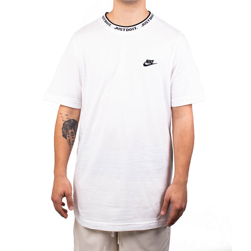 Nike Sportswear Just Do It Top   White/Black