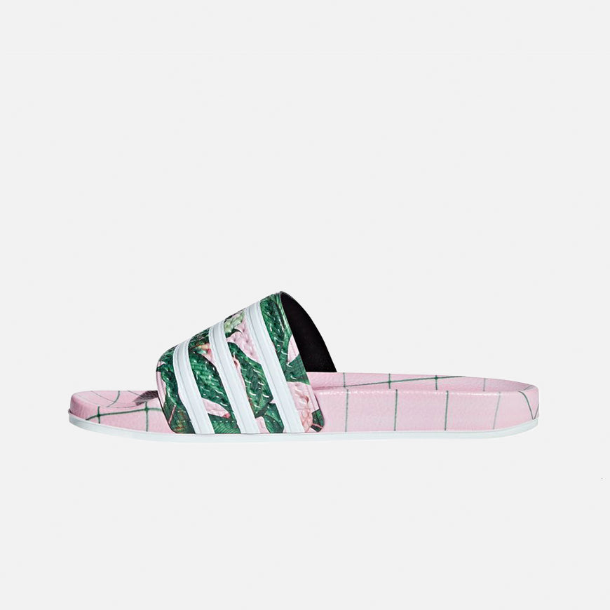 d5297e826c53de Adidas Adilette Pink Green — Unknown