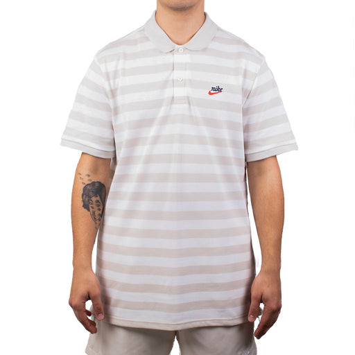 Nike Sportswear Script Polo   Light Bone