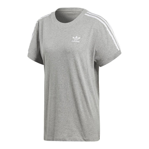 Wmns 3 Stripes T-shirt Grey/White