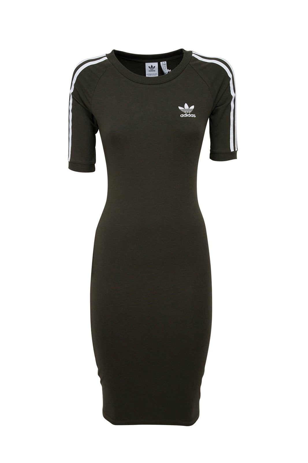 Wmns 3 Stripes Dress Khaki