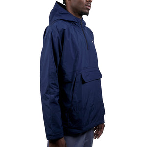 Lightweight Pullover Jacket   Blue