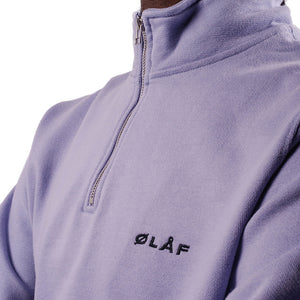 OLAF Zip Mock Sweater